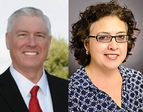 And then there were two: Republican Mike VanDeWalle and Democrat Celia Israel head into a run off in House District 50 special election