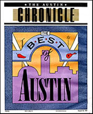 Best of Austin 1991 Cover