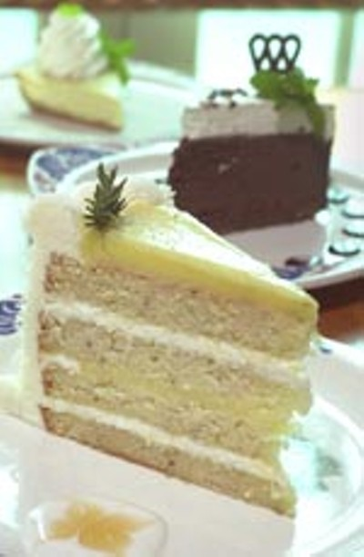 Lemon Rosemary Cake Chez Zee