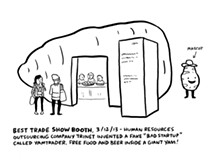 SX Sketchbook: Scenes from the Trade Show