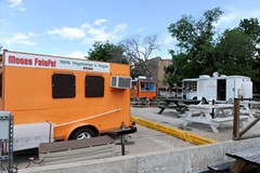 Longhorn Food Trailer Court Closes May 13