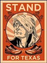 Stand with Wendy: Poster to Benefit the Texas Democratic Party