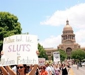 'Slut Walk' Hits Austin