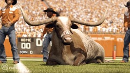 Texas' 2011 Season as Predicted by 'NCAA 12'