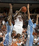 Nothing Could Be Finah: Texas Trounces Tarheels