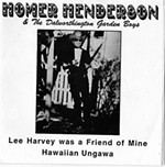 Lee Harvey Oswald Was a Friend of Homer Henderson