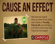 Austin-Area Chipotle Grills Raise Funds for Urban Roots