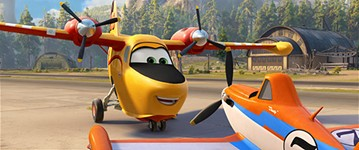 Revew: Planes: Fire & Rescue