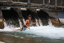 APD Cracks Down on Spillway Swimmers and Dogs