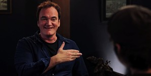 Tarantino Sits in 'The Director's Chair'
