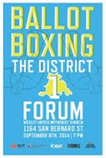District 1 Ballot Boxing Forum Video