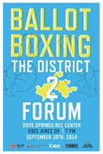 District 2 Ballot Boxing Forum Video