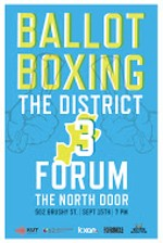 District 3 Ballot Boxing Forum Video