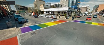 Pride Crosswalk Update