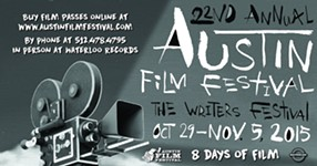 Win passes to the Austin Film Festival
