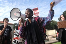 Million Student March Held at UT