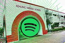 Playback: Spotify Gifts Kealing Middle School