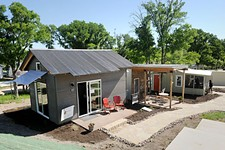 Community First! Unveils Microhomes for the Chronically Homeless
