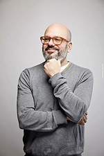 David Cross Goes Cross Country