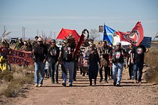 Standing Rock's Civil Disobedience Reaches West Texas