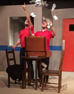 Sam Bass Community Theatre's <i>Flaming Idiots</i>