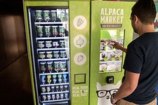 Health-Conscious Alpaca Market's Vending Machines Serve Jars of Fresh Food