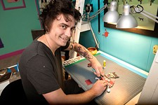 Austin Animator Eric Power Slices and Dices