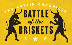 Announcing <i>The Austin Chronicle</i>'s Battle of the Briskets!