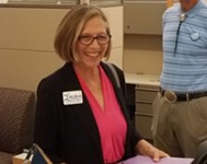Laura Morrison Files for Mayor