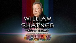 William Shatner Announces Live Conversation