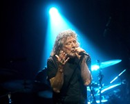 Robert Plant Carries Fire