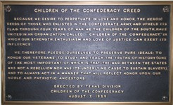 Racist Confederate Plaque Needs a Forever Home