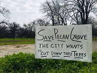 Govalle Neighbors Rally to Save Pecan Grove