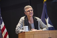 Sarah Eckhardt's State of the County Address Features Brags and Worries