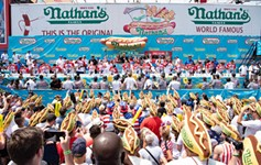 Local Competes in Nathan's Famous Hot Dog Eating Competition