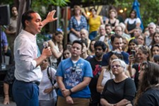 Julian Castro and Beto O'Rourke Highlight Rivalry at Events in Austin