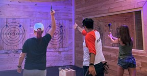 Class Axe Throwing Gets in on Austin's Edgiest New Trend