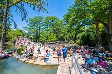 Some of the Best Texas Hill Country Swimming Holes, Restaurants, Breweries, and More
