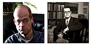 Chris Ware and Seth at the Texas Book Festival