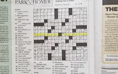 A Proposal in Our Pages. The Crossword to Be Exact.