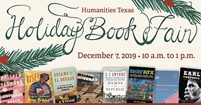 Humanities Texas Holiday Book Fair Has Something for Reader on Your Gift List