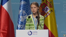 COP25: Greta Thunberg Addresses the Climate Change Conference