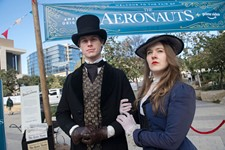 Amazon Original <i>The Aeronauts</i> Event at Republic Square