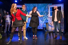 Hideout Theatre's <i>The Hallmark Holiday Musical</i>