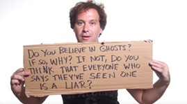 Q&A Hole: Do You Believe in Ghosts?