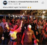 Dense Crowd Photo at Cover Band Gig Ignites Online Furor