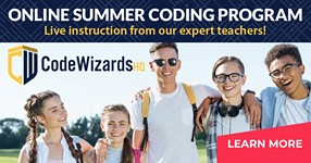 CodeWizardsHQ Live Online Coding Summer Program