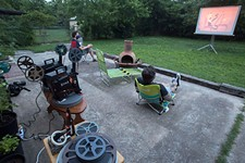 With Theatres Closed, Austinites Create Their Own Backyard Cinemas