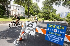 Healthy Streets Program's Partial Closures Give Nondrivers Room