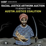 Austin Justice Coalition x DORF: Online Art Auction